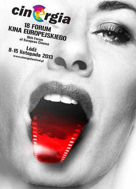Poster promoting the 20th Forum of the European Cinema 2013