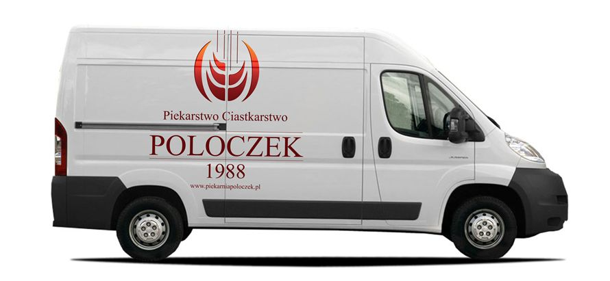 Project of the mobile advertising for bakery Poloczek
